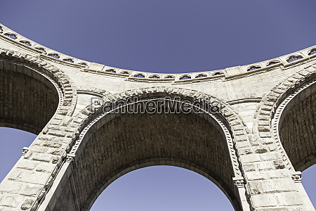ancient stone arches