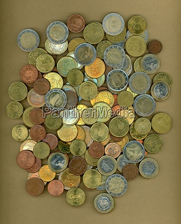 euro coins european union