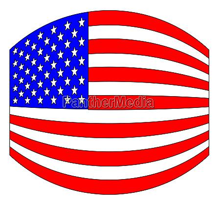 usa stars and stripes flag wide