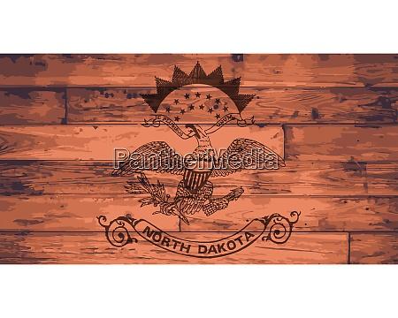 north dakota state flag brand