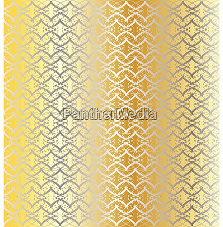 silver and gold linked background