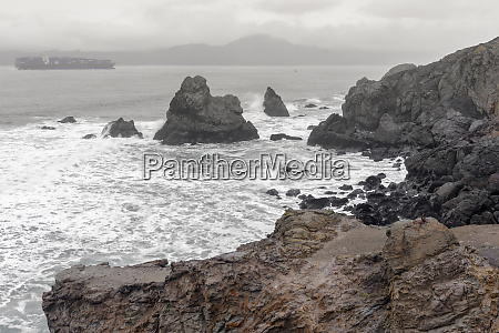 coastal views from lands end towards