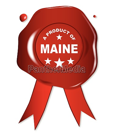 a product of maine