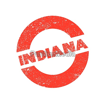 rubber ink stamp indiana