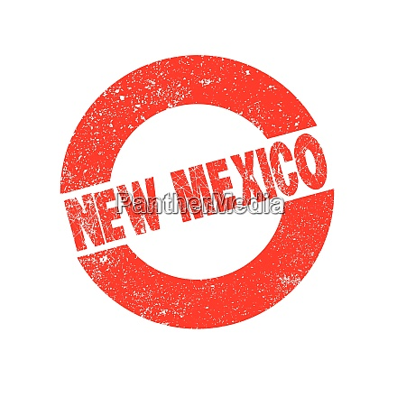 rubber ink stamp new mexico