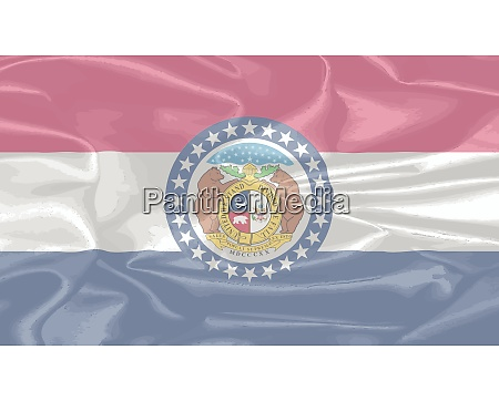 missouri state silk flag