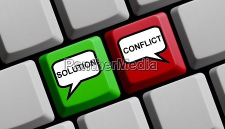 computer keyboard solution and conflict