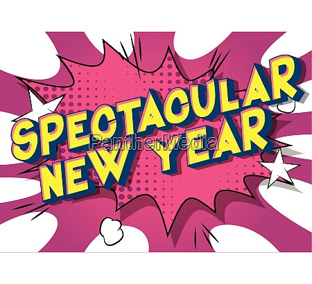 spectacular new year comic book