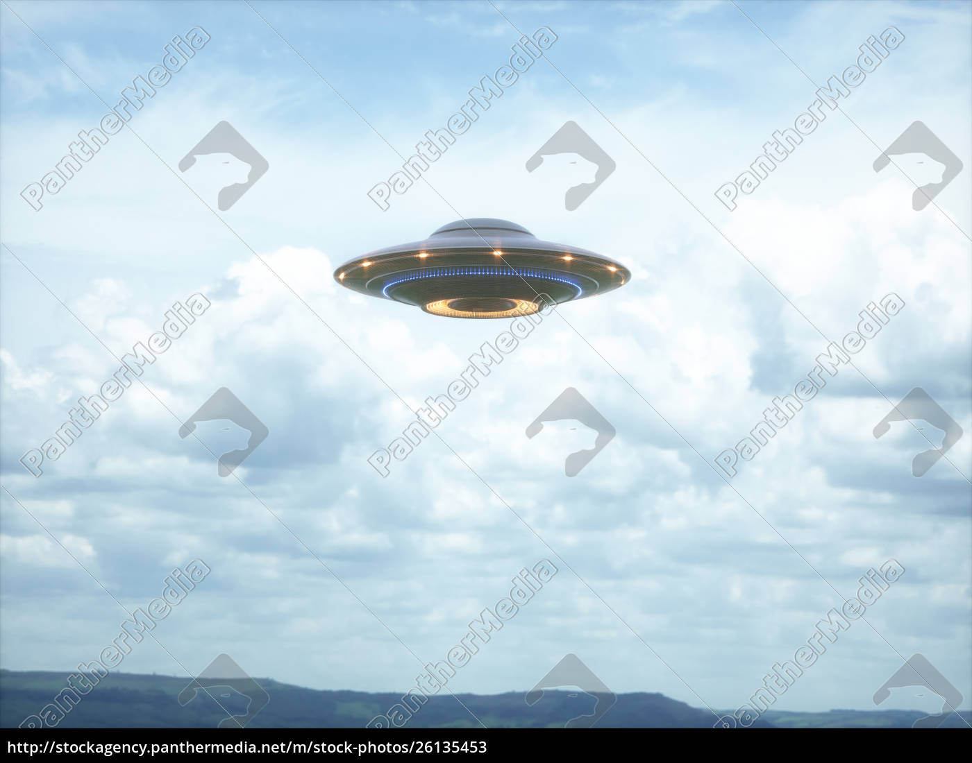 unidentified, flying, object, clipping, path - 26135453