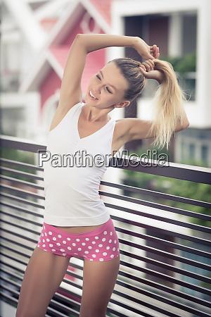 beautiful, woman, at, the, balcony - 26136207