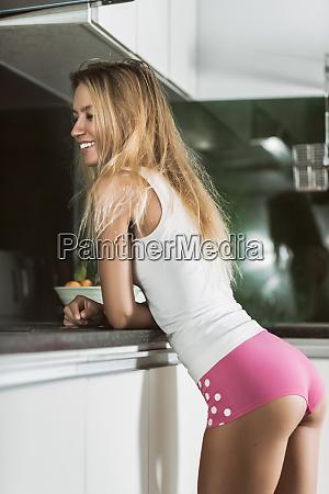 beautiful, woman, at, the, kitchen - 26136233