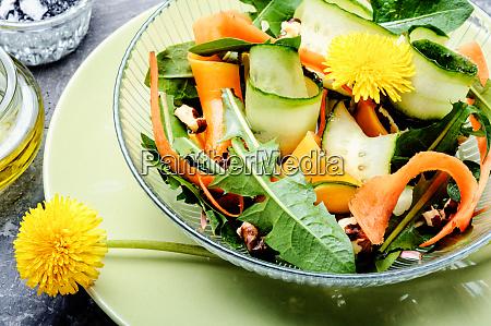 fresh, dandelion, salad - 26136285