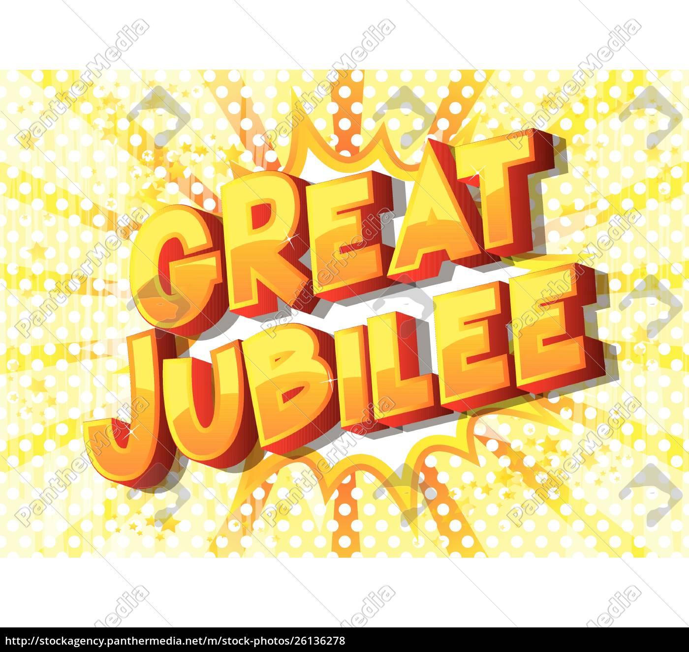 great, jubilee, -, comic, book, style - 26136278