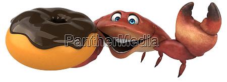 fun, frog, -, 3d, illustration - 26137224
