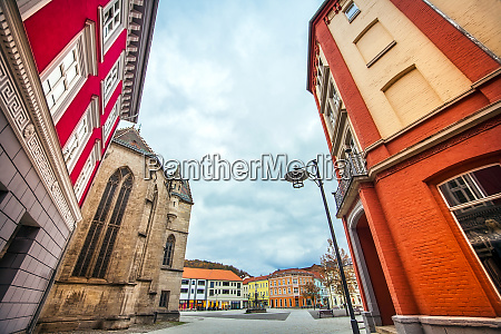 the city of meiningen in thuringia