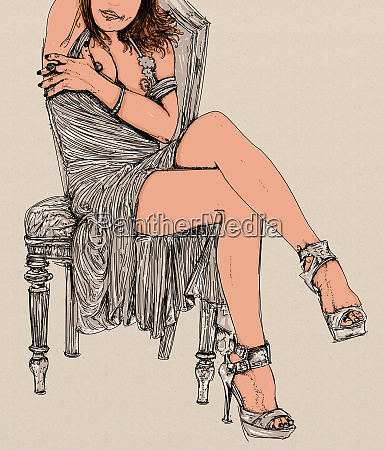 woman erotic refined and