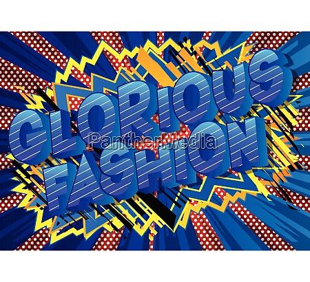 glorious, fashion, -, comic, book, style - 26138938