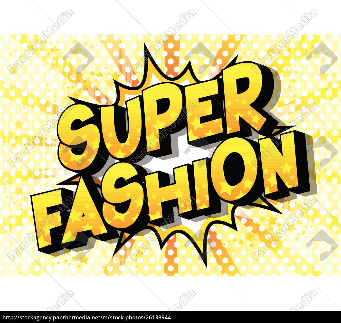 super, fashion, -, comic, book, style - 26138944