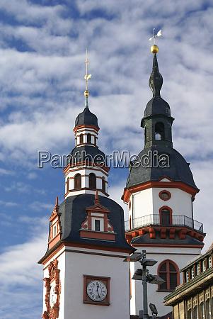 old city hall tower chemnitz saxony