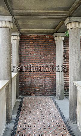 columns, and, mosaic, floor - 26139918