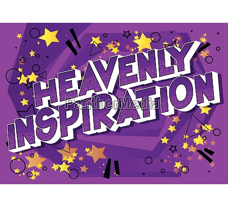 heavenly inspiration comic book style