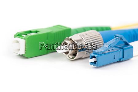 fiber optic single mode connectors