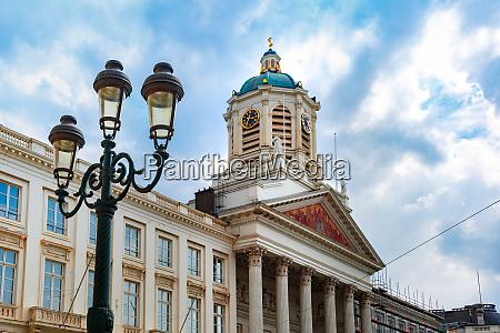 royal square in brussels belgium