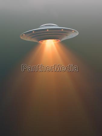 unidentified flying object rocket tail