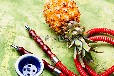 oriental shisha with pineapple