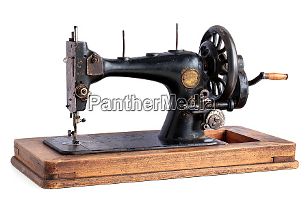 ancient sewing machine