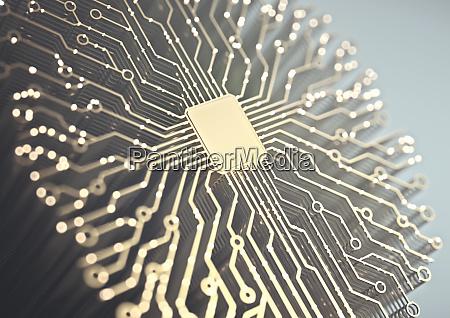 artificial intelligence microchip brain
