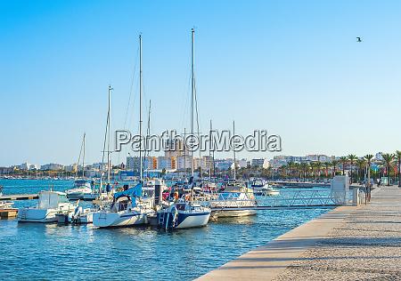 yachts in marina portimao portugal