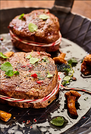 tender thick medallion of fillet steak