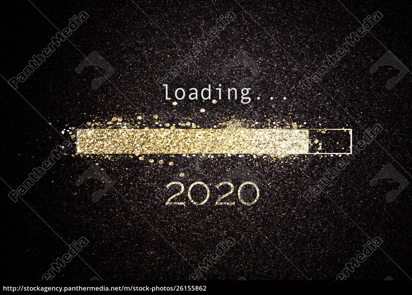 2020 new year background with loading bar stock image 26155862 panthermedia stock agency https stockagency panthermedia net m stock photos 26155862 2020 new year background with loading