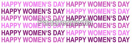 illustration card international womens day