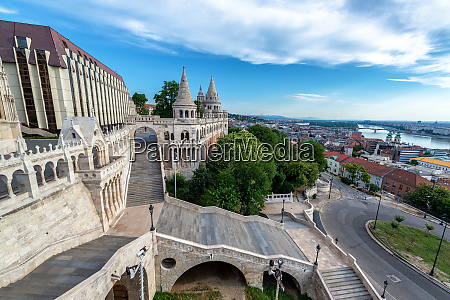 fishermans bastion and budapest view