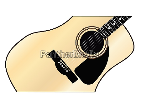 maple acoustic guitar