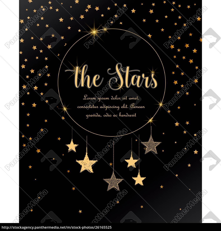night, sky, with, stars - 26165525