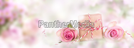 pink decoration for mothers day