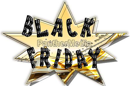 black friday sale symbol