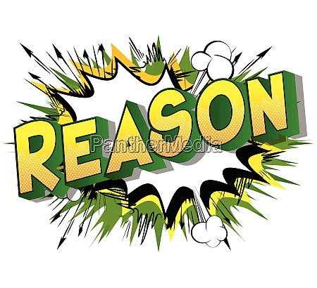 reason vector illustrated comic book