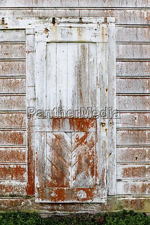vintage door built in 1850s at