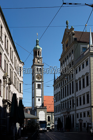 tower of st peter and townhall