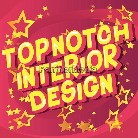 topnotch interior design comic book
