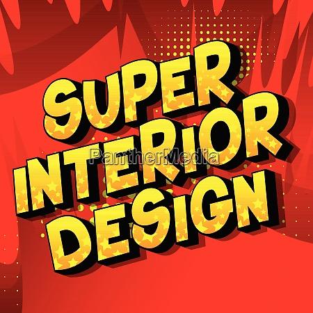 super, interior, design, -, comic, book - 26190823
