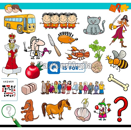 q is for educational game for