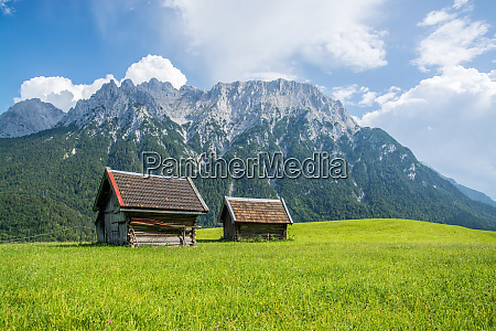 karwendel near mittenwald bavaria germany