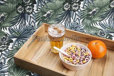 unhealthy breakfast