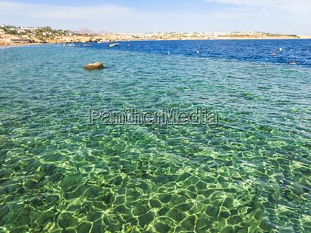red sea beach at egypt sharm
