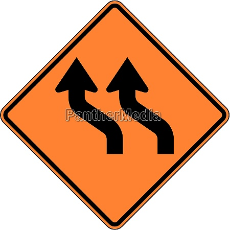 reverse curve two lanes